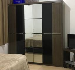 Guarda Roupa Casal 6 portas com espelho Kappesberg -usado