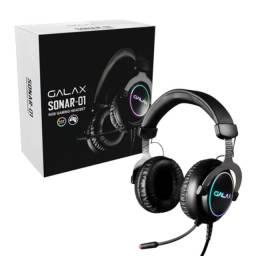 Título do anúncio: Fone galaxy sonar 01 rgb gamer headset - novo na caixa