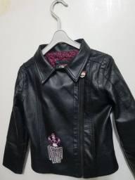 Jaqueta de couro Monster High