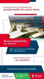 Título do anúncio: CH - Parque Recife. As margens da BR 101, Com fácil acesso a tudo!