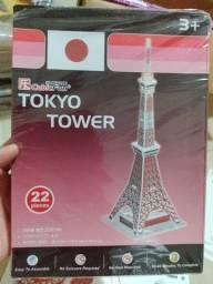 Título do anúncio: Maquete Torre de Tokyo para montar