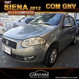 Fiat Siena EL 1.4 2012 com GNV