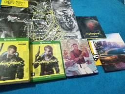 Cyberpunk 2077- edição steelbook da gangue Valentinos (Xbox one)