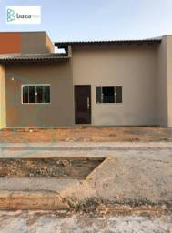 Casa com 2 dormitórios (1 suíte) à venda, 60 m² por R$ 170.000 - Condominio Nico Baracat -