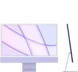 Título do anúncio: iMac 24 customizado M1 8 GPU/8CPU/ 16 GB/ 256 ssd purple novo