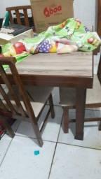 Título do anúncio: mesa 4 cadeiras
