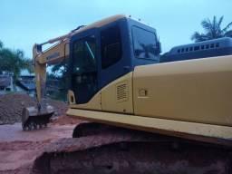 Título do anúncio: Escavadeira Hidraulica Komatsu Pc 160-lc