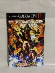 Hq Homem de Ferro N°06 - Vingadores ao Resgate