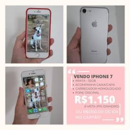 Iphone 7 - 32GB - Prata