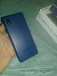 Título do anúncio: Samsung galaxy A01 Core Azul