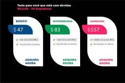 Título do anúncio: Seguidores Brasileiros