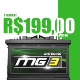 Baterias MG3 60Ah R$199,00!