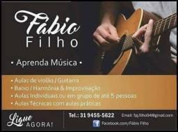 Aulas Violão e guitarra