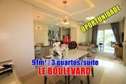 Apartamento Le Boulevard Com 3 quartos com suíte/ 3ºAndar