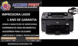 Impressora laser hp P1102W wireless