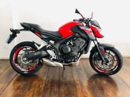 Título do anúncio: Honda CB 650F 2019 vermelha