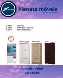 Título do anúncio: ROUPEIRO WIND NOVO / CDS DVDS CDS DVDS CDS DVDS CDS DVDS