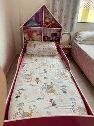 Título do anúncio: Kit guarda roupa + cama com colchão