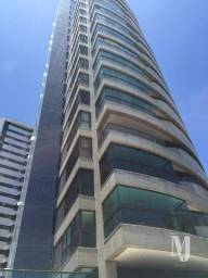 Apartamento com 4 dormitórios para alugar, 190 m² por R$ 9.500,00/mês - Pina - Recife/PE