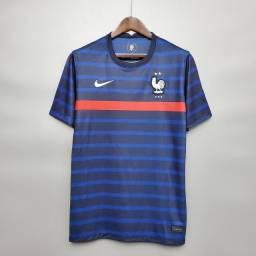 Camisa Seleção França Home 20/21 s/n° Torcedor Nike