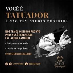 Título do anúncio: Aluguel de estúdio de tatuagem