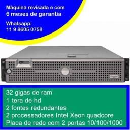 Título do anúncio: Servidor Dell 2950 - 2x Quadcore - 32 GB  ram