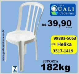 Cadeira Bressan uso comercial suporta 182kg