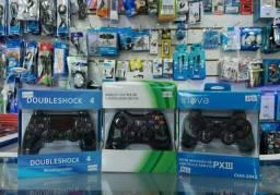 Controles de PS4, PS3 e XBOX na PROMOÇÃO<br>Qualquer um por APENAS *$149.90*