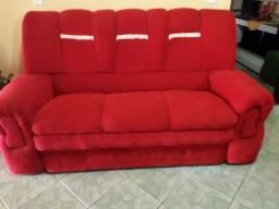 Título do anúncio: Conjunto de sofá carmesim gg