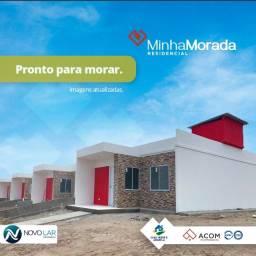 Casas prontas no Cidade Alta e Parcelas a partir de R$ 499