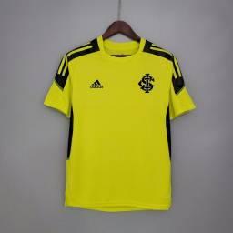 Camisa treino Internacional Amarela 21-22 Tamanho M a pronta entrega