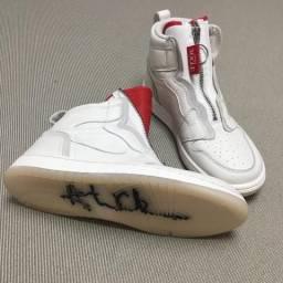 12f0beff6d3 Tênis Nike Air Jordan Feminino tamanho 37 Brasil edição Vogue