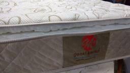 Colchão molas com Pillow top de visco elástico varios tamanhos