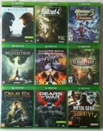 Jogos Xbox One por 40,00 cada