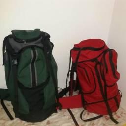 Mochila de Camping de 60 á 85l .material top em residência e conforto. produtos novos