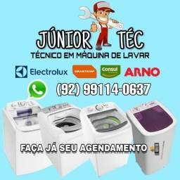 Técnico em conserto de máquinas de lavar SERVIÇO COM GARANTIA .
