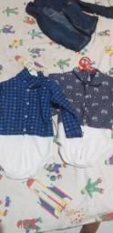 Vendo roupa de bebe masculina