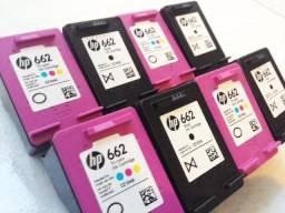 Aumento da capacidade de armazenamento interno de tinta em cartuchos da HP