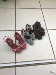 Sapatos femininos - todos Tam. 30