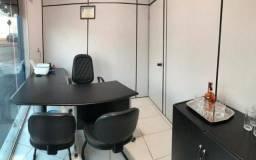 Escritórios mobiliados e sala de reuniões executiva