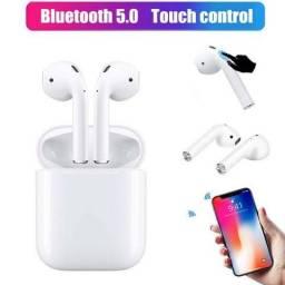 Fone I12 Tws Bluetooth 5.0 Touch - Android/ios, Funções