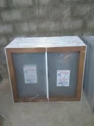 ÚLTIMA REMESSA neste valor janelas novas BRANCAS R$ 230.00 100A/120L