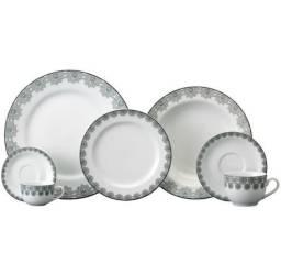 Jogo de jantar e café Porcelanas Schmidt 30 peças