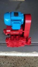 Hidrolavadora de Alta Pressão HU 34013 400PSI com Motor Trifásico 2CV