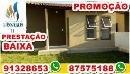 Passo casa no Village dos Pássaros 3 - Valor 38 mil -Nascente Prest 453 - What's 91328653