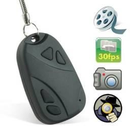 Chaveiro Espião Câmera Foto e Vídeo com Áudio