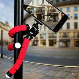 Tripé de selfie flexível