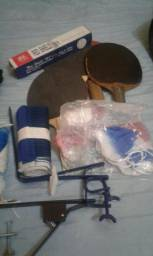 Vendo kit tênis de mesa e badminton