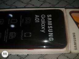 Smartphone Samsung A01 Vermelho