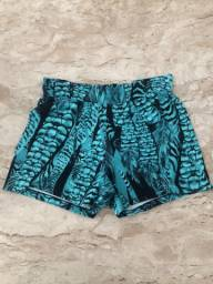 Short fitness Bluebeach
